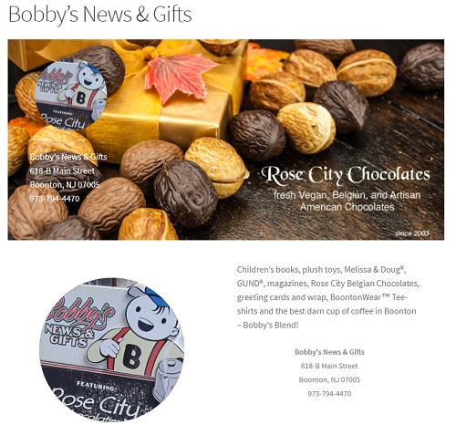 Bobbys Page