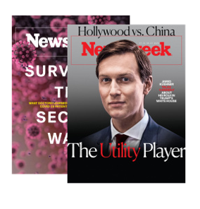 Newsweek Subscription Starting at $2.50 a week.