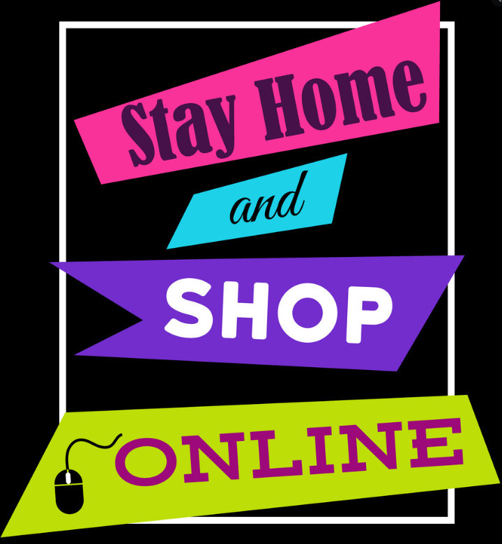 stay home and shop